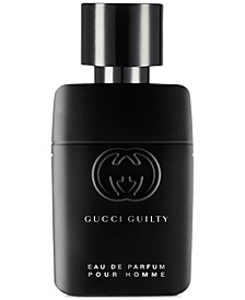 Receive a Complimentary Mini with any large spray purchase from the Gucci Men's Guilty Pour Homme fragrance collection