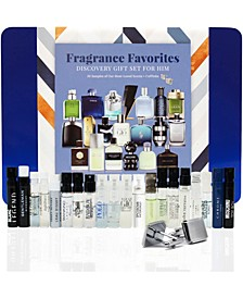 Fragrance Favorites Discovery Gift Set for Him, Created for Macy's