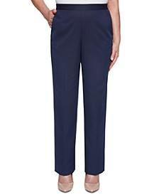 Petite Ship Shape Pull-On Pants