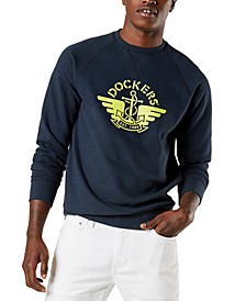 Men's Regular-Fit Logo-Print Sweatshirt, Created for Macy's