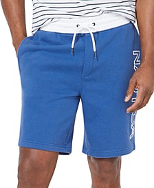 Men's Fleece Knit Logo Shorts