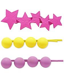3-Pc. Matte Neon Pins Set