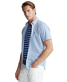 Men's Classic-Fit Seersucker Shirt