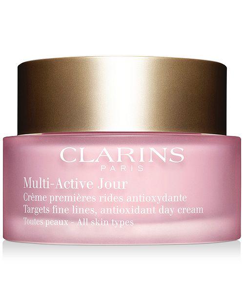 Clarins Multi-Active Day Cream - All Skin Types, 1.6oz