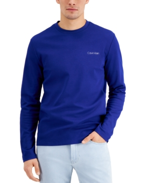 Calvin Klein Move 365 Crewneck Long Sleeve Tee
