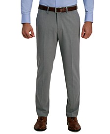 J.M. Men's Slim-Fit 4-Way Stretch Solid Dress Pants