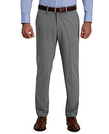 J.M. Haggar Men's Slim-Fit 4-Way Stretch Solid Dress Pants