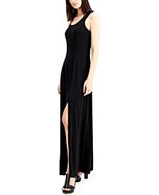 Petite Slit Maxi Dress
