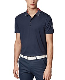 BOSS Men's Pauletch Pro SL Slim-Fit Golf Polo Shirt