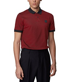 BOSS Men's Parlay 70 Cotton-Piqué Polo Shirt