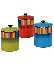 Sierra 3-Pc. Canister Set