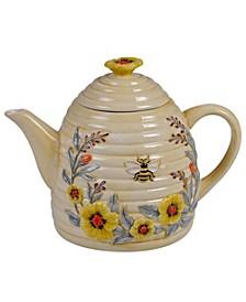 Bee Sweet 3-D Beehive Teapot