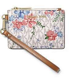 Jet Set Floral Coin Purse