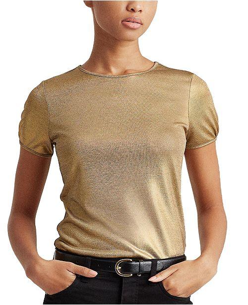 Lauren Ralph Lauren Birkey Short Sleeve Knit Top