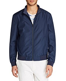Men's Slim-Fit Bomber Jacket
