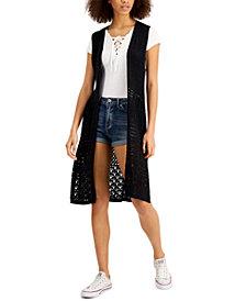 Freshman Juniors' Duster Vest