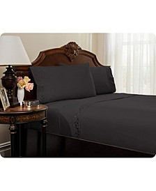 Embroidered Bed Sheets Set - King