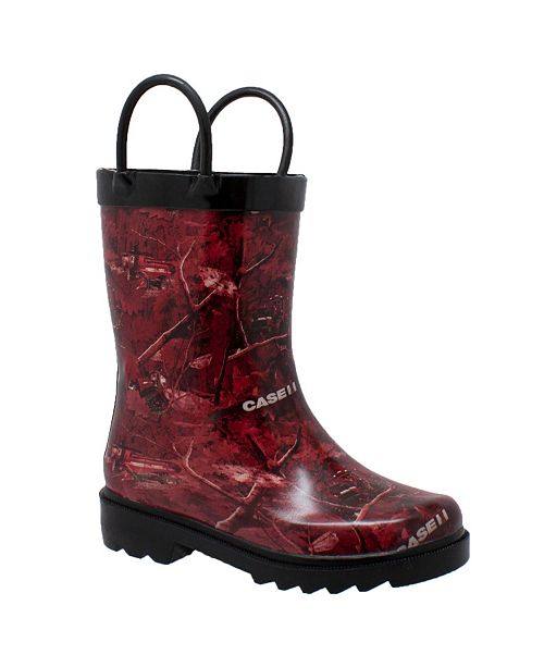 Case IH Toddler Boys Rubber Boot