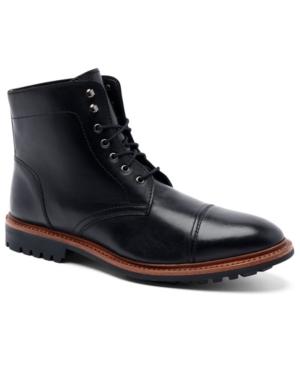 """Men's Ranveer Cap-Toe Rugged 6"""" Lace-Up Boots Men's Shoes"""