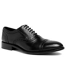 Men's Ford Quarter Brogue Oxford Lace-Up Dress Shoe