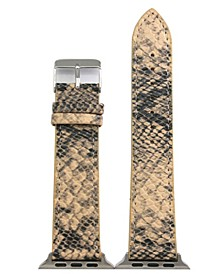 Snake Leather Apple Watch Band