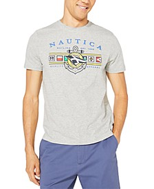 Men's Big & Tall Colored Flags Graphic T-Shirt