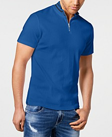 INC Men's Quarter-Zip Polo