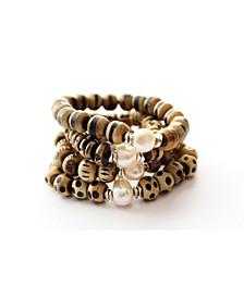 Horn Wood Bracelets