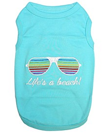 Life's a beach Dog T-Shirt