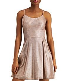 Juniors' Sherri Shine Dress