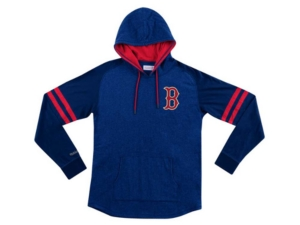Mitchell & Ness Boston Red Sox Men's Midweight Applique Hoodie