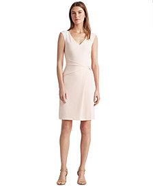 Lauren Ralph Lauren Jersey V-Neck Dress