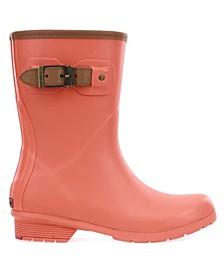 Women's City Solid Mid-Calf Rain boot