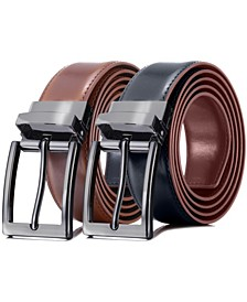 Men's Traditional Reversible Leather Belt