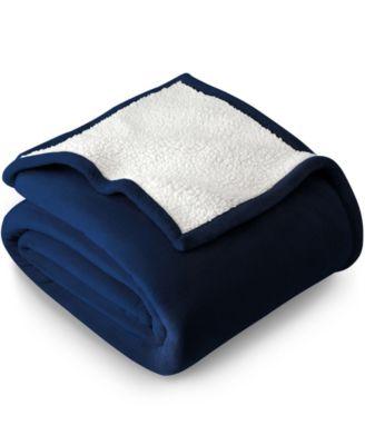 Sherpa Fleece Blanket, Twin/Twin XL
