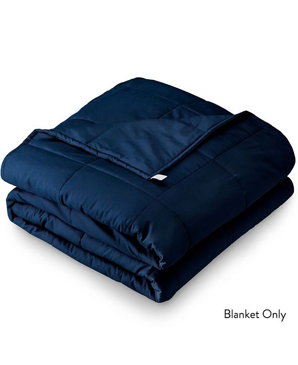 """Bare Home 80"""" x 87"""" Weighted Blanket, 25lb"""
