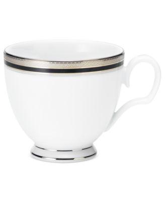 Dinnerware, Austin Platinum Cup