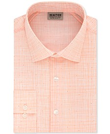 Men's Extra-Slim Fit Non-Iron Stretch Streaky Dress Shirt
