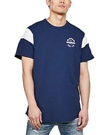 Men's Blocked Sleeve Logo T-Shirt, Created for Macy's
