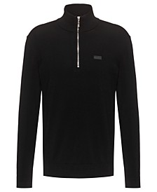Boss Men's Half-Zip Mock Neck Sweater