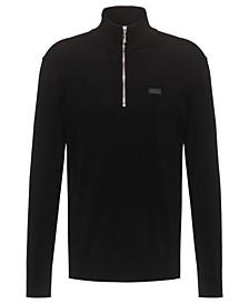 Boss Men's Half-Zip Mock Neck Sweater