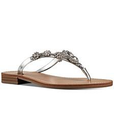 Women's X Neil Lane Perfect Flat Thong Sandals