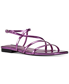 Mani Strappy Flat Sandals