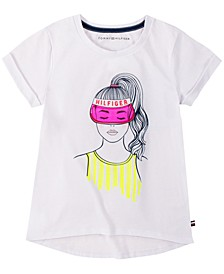 Little Girls Game Girl T-Shirt