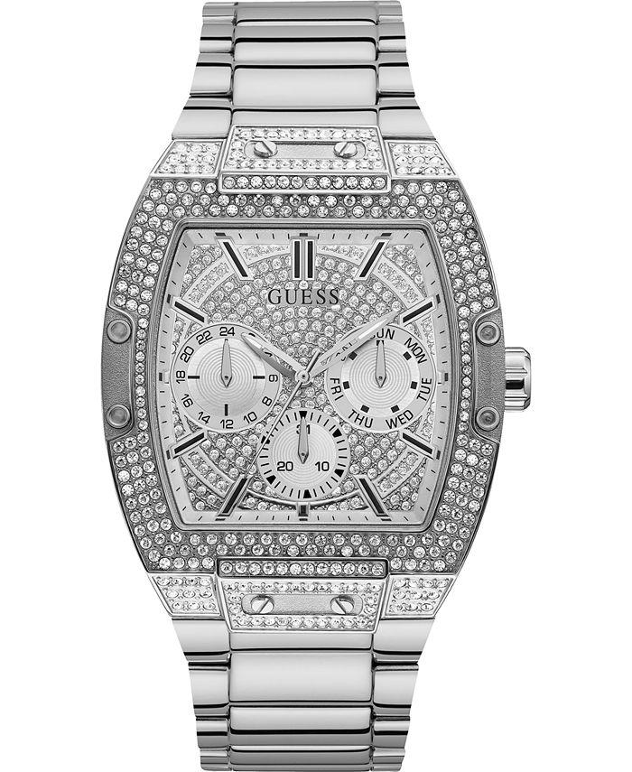 GUESS - Men's Stainless Steel Bracelet Watch 43x51mm