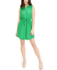 Printed Double-Hem Sleeveless Dress, Created for Macy's