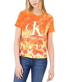 Calvin Klein Jeans Logo Tie-Dye T-Shirt