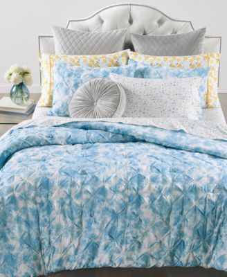 Pleated Tie Dye 2-Pc. Twin/Twin XL Comforter Set, Created for Macy's