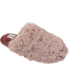 Women's Winter Warm Furry Slide Slippers