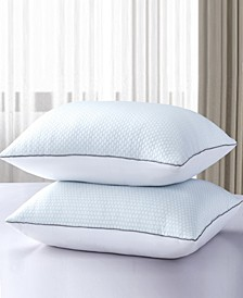 Summer/Winter White Goose Feather Bed Pillow - 2 Pack, Jumbo